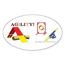 AGILITY! Oval Decal