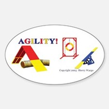AGILITY! Oval Decal