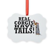 real_corgis_tails Ornament