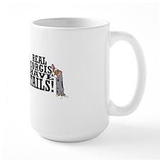 real_corgis_tails_mug Mug