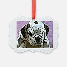 EBulldog Tile Box Ornament