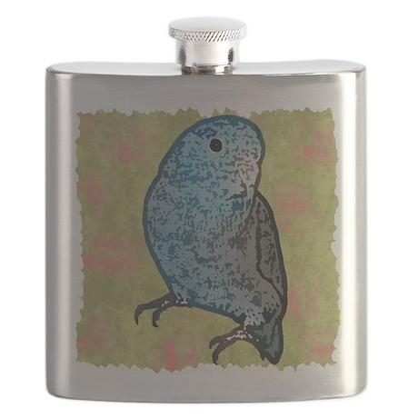 parrotletblue 10x10 Flask