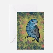 parrotletblue_journal Greeting Card