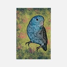 parrotletblue_journal Rectangle Magnet