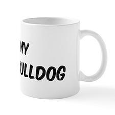 I Love: English Bulldog Mug