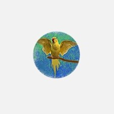 ringnecklutino_ornament Mini Button