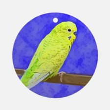 budgie1_shirt Round Ornament
