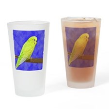 budgie1_shirt Drinking Glass