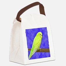 budgie1_shirt Canvas Lunch Bag