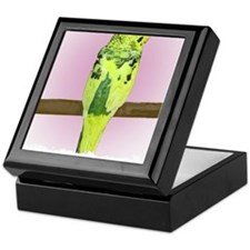budgie4_shirt Keepsake Box