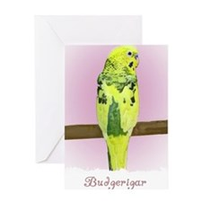 budgie4_shirt Greeting Card