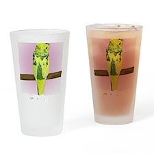 budgie4_shirt Drinking Glass