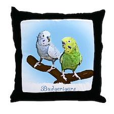 budgies_shirt Throw Pillow