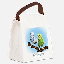 budgies_shirt Canvas Lunch Bag