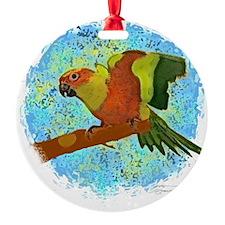 sunconure_print Ornament