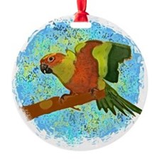 sunconure_card Ornament