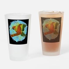 sunconure_tile Drinking Glass