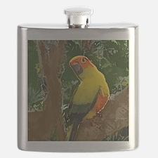 sunconure_forest_button Flask