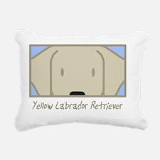 generic_labyellow Rectangular Canvas Pillow