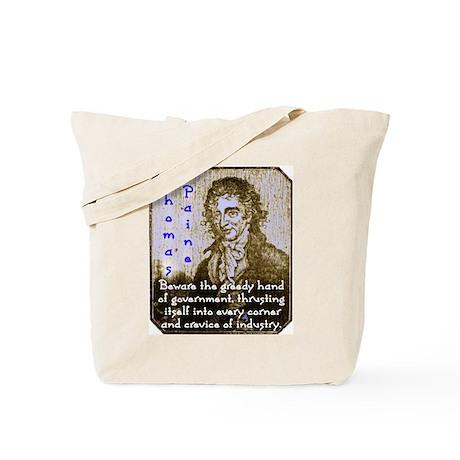Greedy Paine: Tote Bag