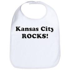 Kansas City Rocks! Bib