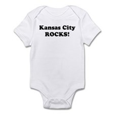Kansas City Rocks! Infant Bodysuit