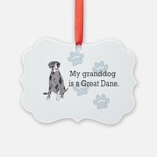 granddog_greatdanemerle Ornament