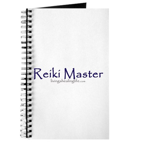 Reiki Master, purple Journal