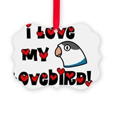 generic_lovebirdfischerblue Ornament