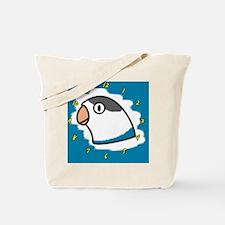 generic_lovebirdfischerblue_clock Tote Bag