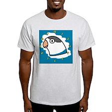 generic_lovebirdfischerblue_clock T-Shirt