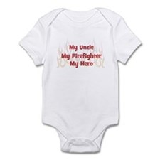 My Uncle My Firefighter Infant Bodysuit