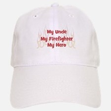 My Uncle My Firefighter Baseball Baseball Cap