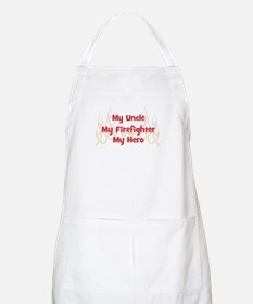 My Uncle My Firefighter BBQ Apron