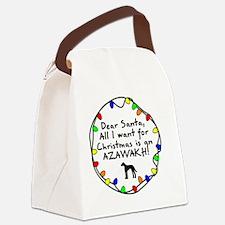 ds_azawakh Canvas Lunch Bag