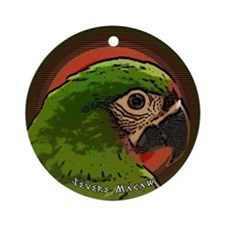 severemacaw_asian_ornament Round Ornament
