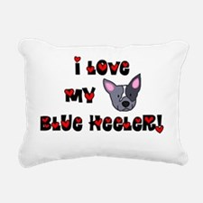 generic_blueheeler Rectangular Canvas Pillow