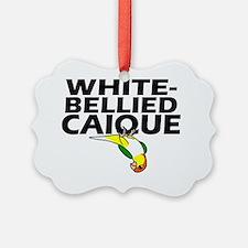whitebelliedcaique Ornament