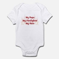 My Papa My Firefighter Infant Bodysuit