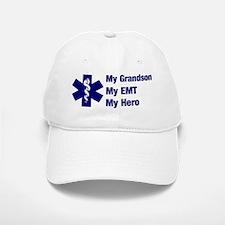 My Grandson My EMT Baseball Baseball Cap