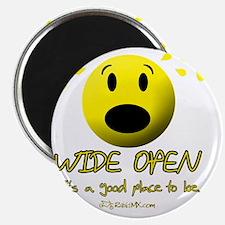 wideopen_black Magnet