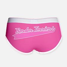 st_borderterriers_pinkblack Women's Boy Brief
