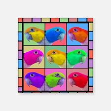 """warhol_wbcaique_mousepad Square Sticker 3"""" x 3"""""""