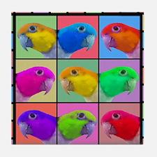 warhol_wbcaique_mousepad Tile Coaster