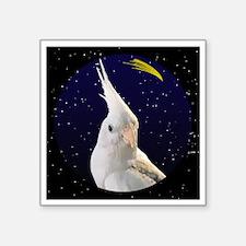 "christmasnight_wfpd_cockati Square Sticker 3"" x 3"""
