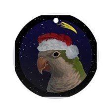 christmasnight_quaker Round Ornament