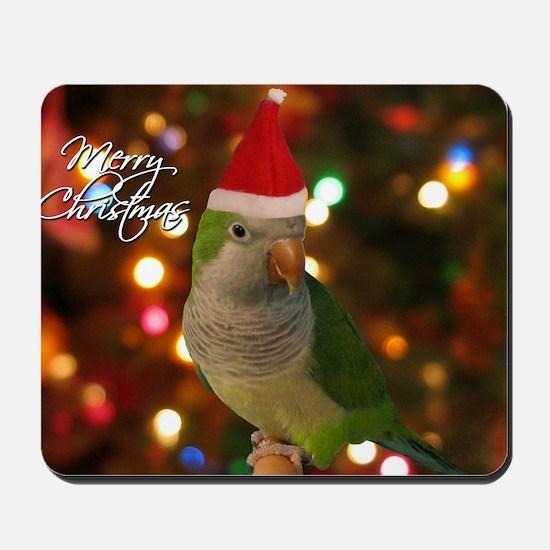 quaker_santa_card Mousepad