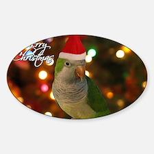 quaker_santa_card Decal