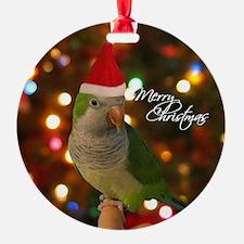 quaker_santa_ornament Ornament
