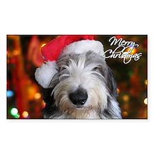 roofus_santa_card Decal